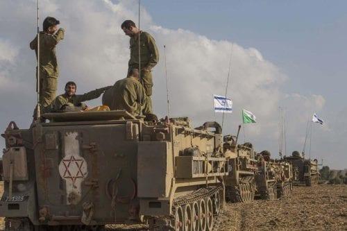 """El ejército israelí realiza un simulacro """"sorpresa"""" a gran escala…"""