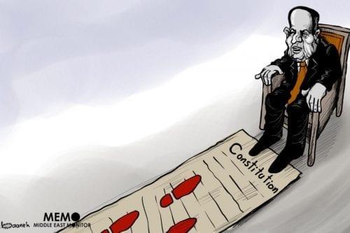 Constitucionalizando la dictadura de Egipto