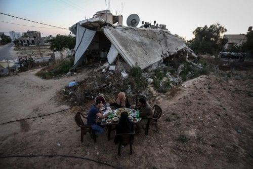 Cuatro años y medio después del asalto de Israel, 13.000…