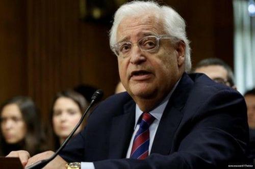 El embajador de Estados Unidos en Israel revela detalles del…