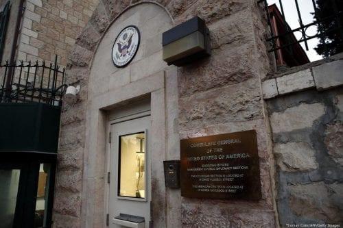 La fusión del consulado y la embajada de Estados Unidos…