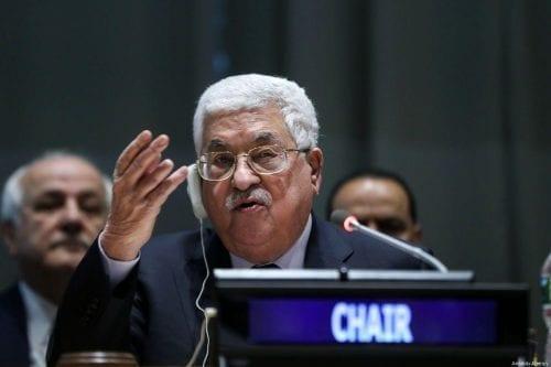 Abbas busca fondos incondicionales del Banco Mundial
