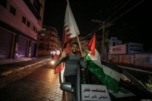 Qatar desembolsa ayudas a 55.000 familias en Gaza