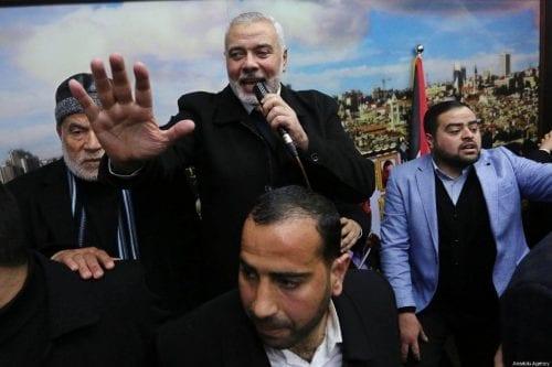 Haniyeh: Israel recibió el mensaje de la resistencia palestina