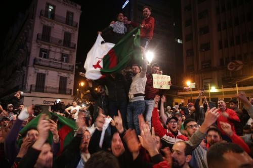 """Argelia pide una """"Marcha de 20 millones"""" para poner fin…"""