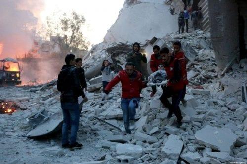 Informe: el régimen sirio ataca a 200.000 civiles desplazados en…