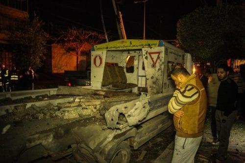 Israel sigue bombardeando Gaza a pesar de un supuesto alto…