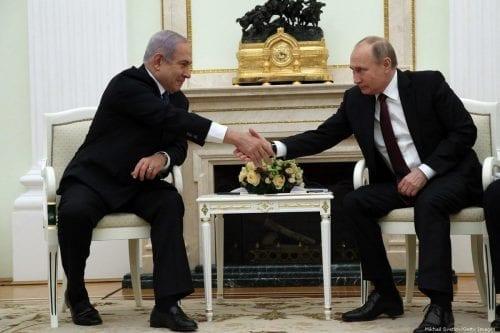 Netanyahu: Rusia quiere sacar a Irán de Siria