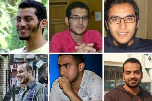 Las familias de los prisioneros egipcios piden que se detenga…