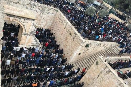 Peticiones judías para convertir la mezquita de Al-Rahma en una…