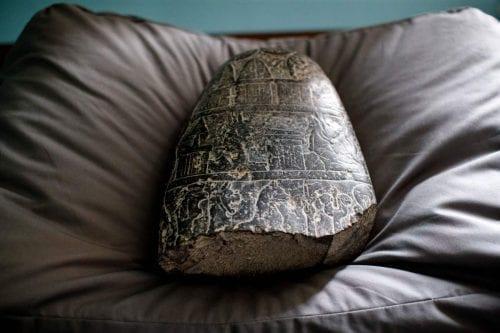 Irak repatría una piedra babilónica de Reino Unido
