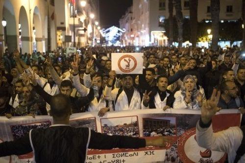 Marcha de protesta en Marruecos contra la abolición de la…