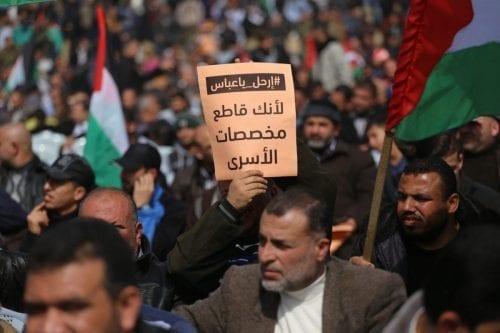 La Autoridad Palestina paga ayudas a las familias de los…