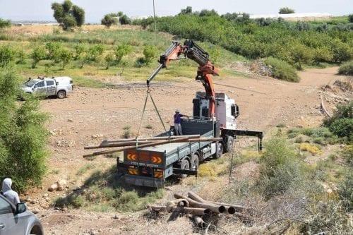 Israel demuele un pozo de agua de los palestinos en…