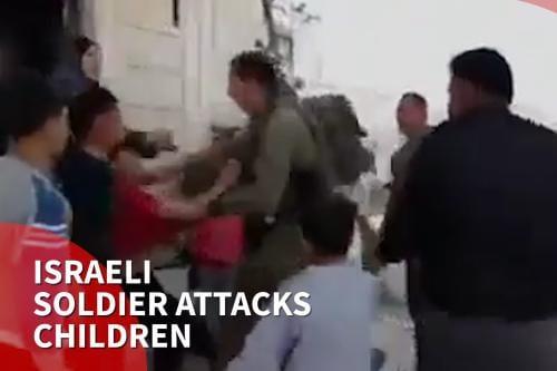 Fuerzas israelíes atacan y hieren a escolares en Hebrón