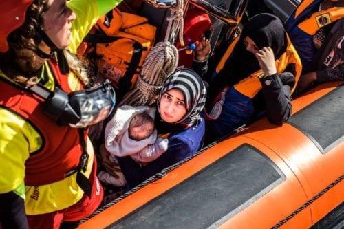 30 palestinos desaparecidos frente a las costas de Grecia