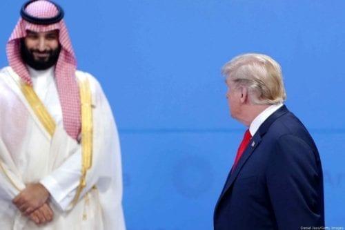 Trump discutió sobre Irán y derechos humanos con el príncipe…