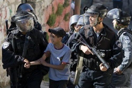 Informe: 250 niños palestinos privados de derechos básicos en las…