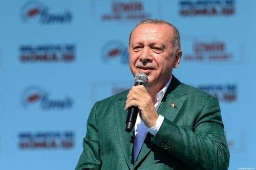 El presidente turco Erdogan pide que se anulen las elecciones…