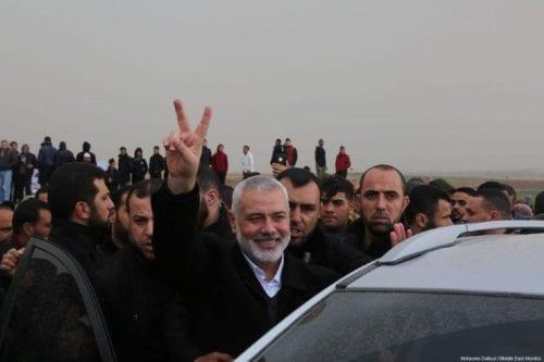 El líder de Hamás informa al emir de Qatar sobre…