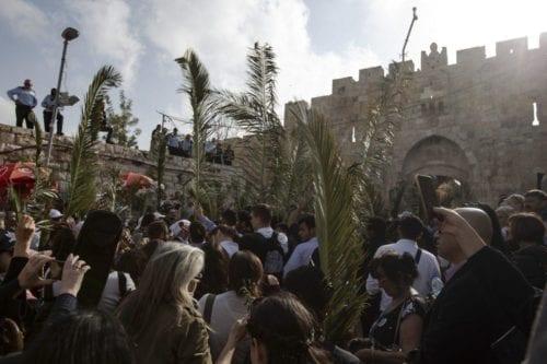 Israel prohíbe a los cristianos de Gaza ir a Jerusalén…
