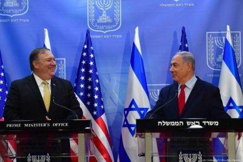 Pompeo: Imponer la soberanía de Israel sobre Cisjordania no dañará…