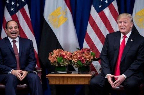 Trump y el presidente Sisi de Egipto discutirán sobre seguridad…