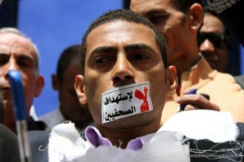 """Egipto lleva a cabo una """"caza de brujas"""" contra periodistas"""