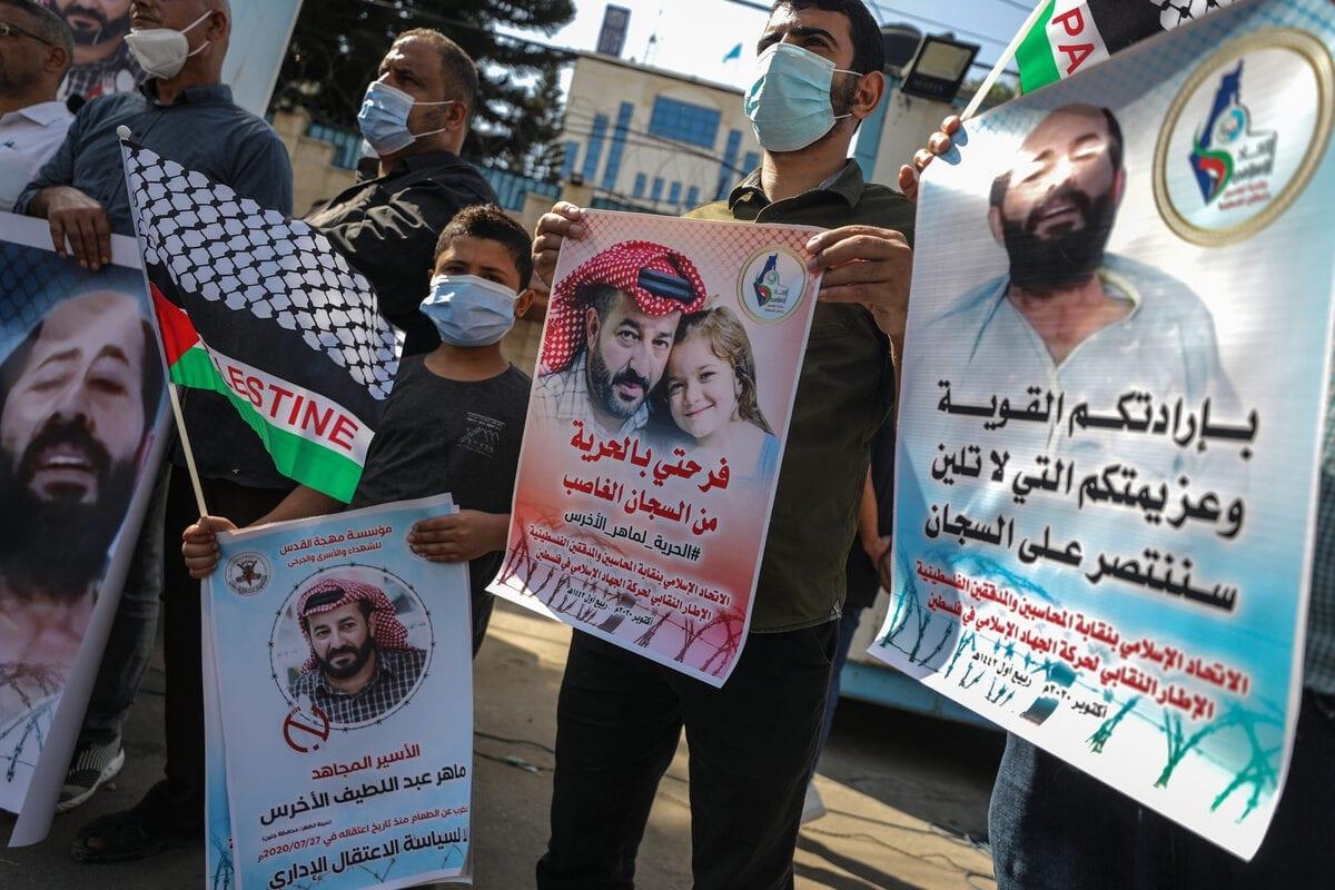 Las huelgas de hambre ponen de manifiesto la injusta detención de prisioneros políticos por parte de Israel