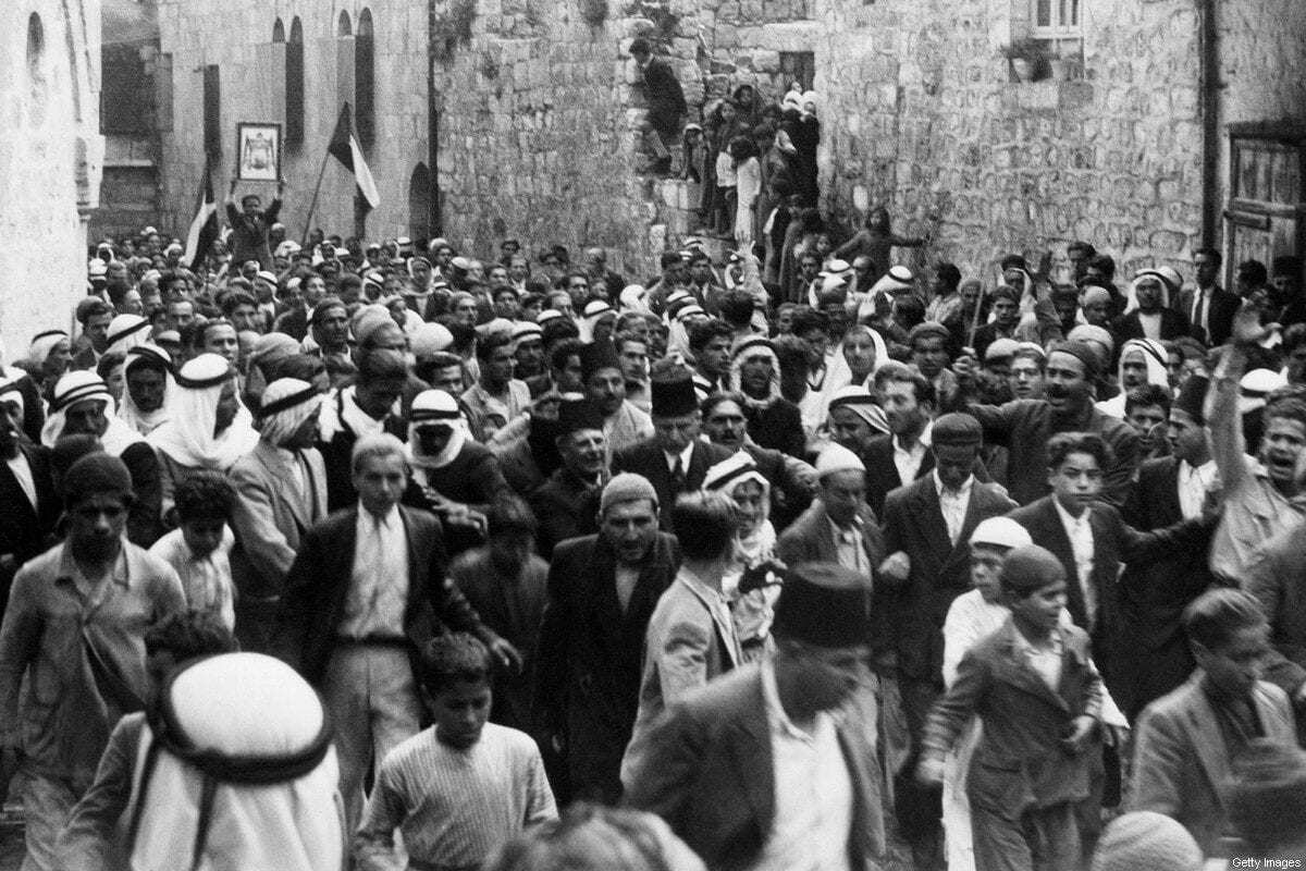 Árabes israelíes procedentes de la nada