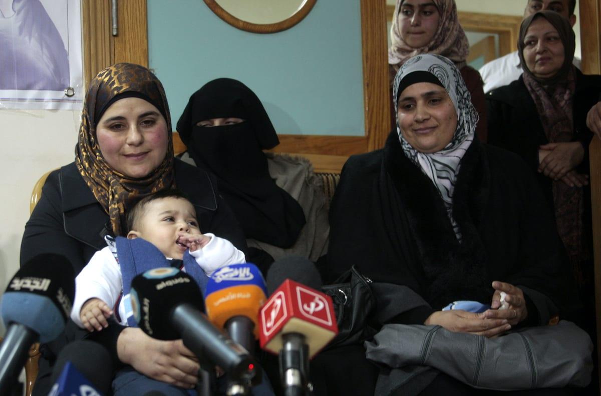 """Los llamados """"embajadores de la libertad"""" de Palestina nacen gracias al contrabando de esperma"""