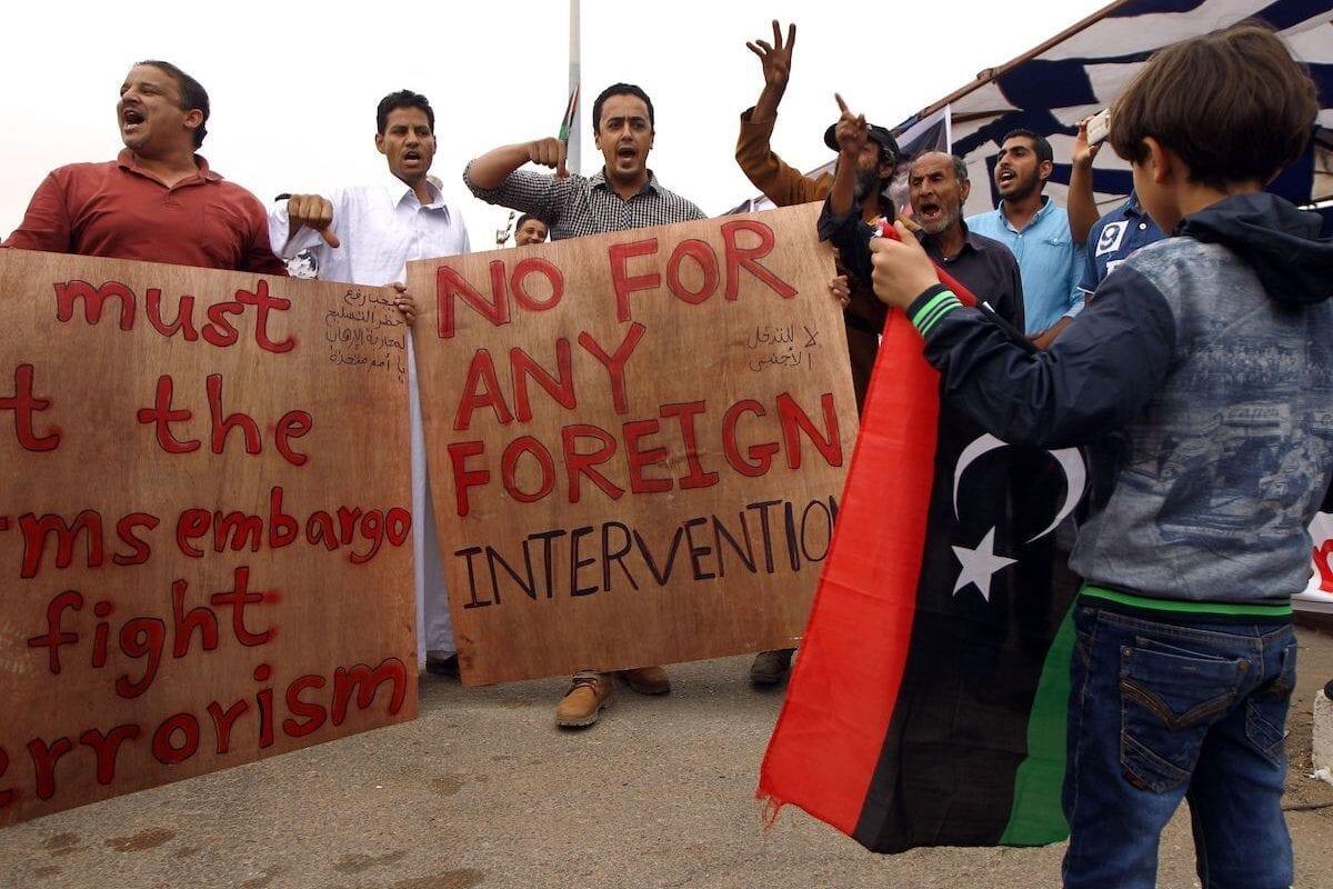 Libia ya ha pasado por esta situación con las tropas extranjeras