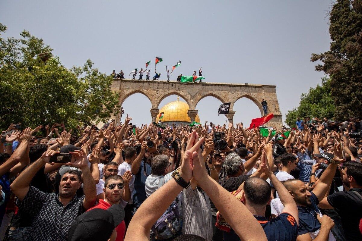 Una mañana de victoria en Jerusalén