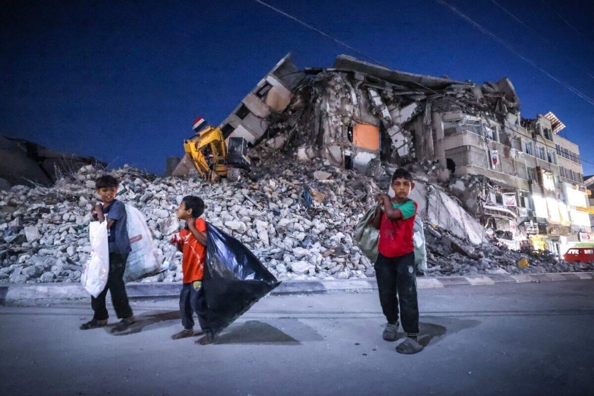 Los niños de Gaza cuentan cómo han sobrevivido al bombardeo israelí
