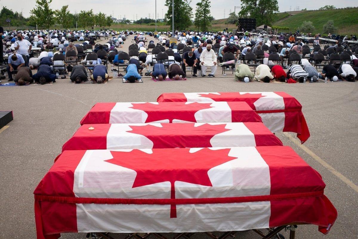 Las palabras por sí solas no acabarán con el terrorismo antiislámico en Canadá