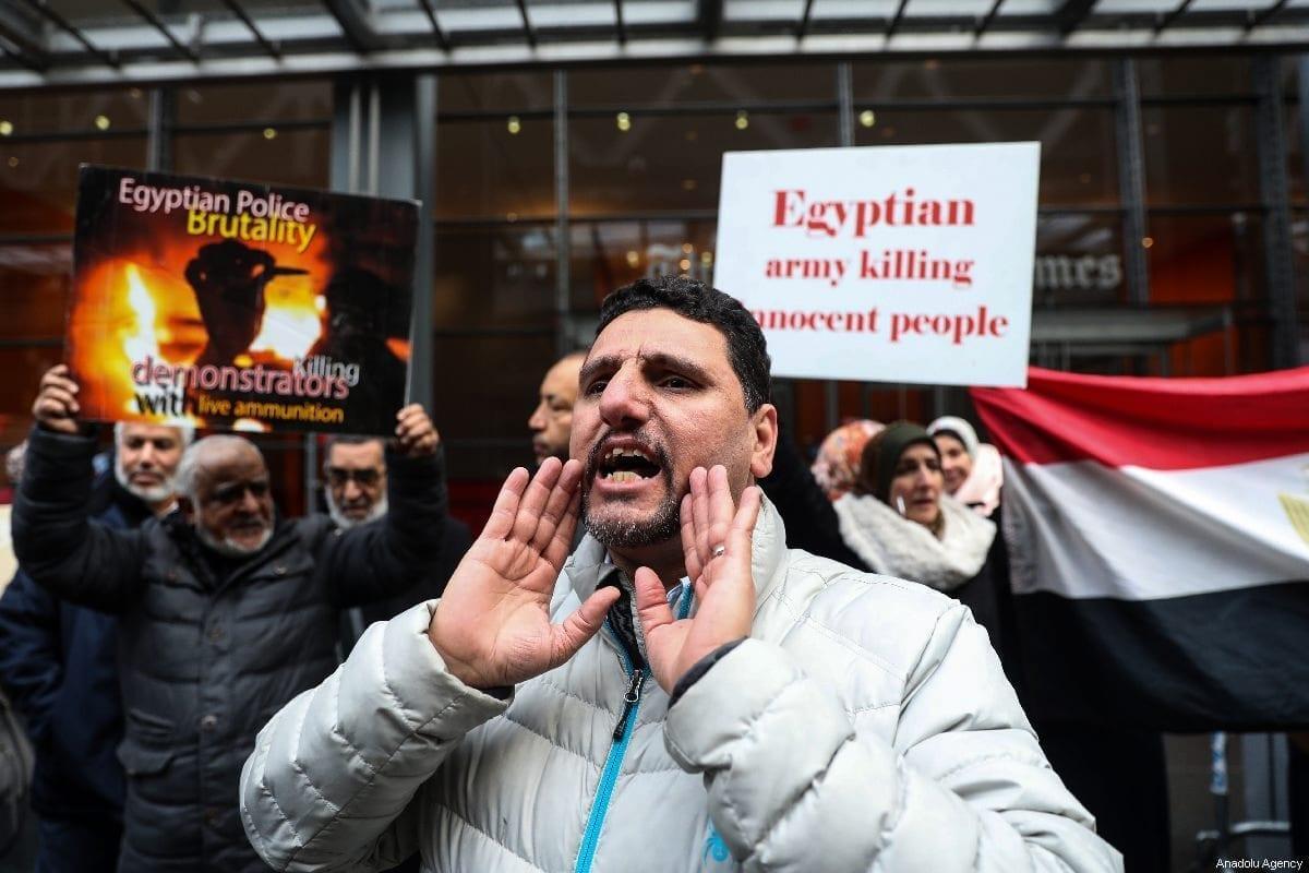 Los egipcios son ejecutados en silencio
