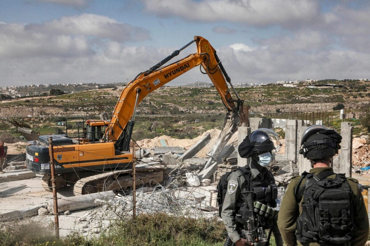 La expansión colonial de Israel no se produce en un contexto de vacío político