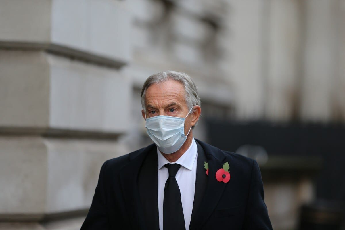 La crítica de Blair a la retirada afgana es una sólida defensa del militarismo occidental