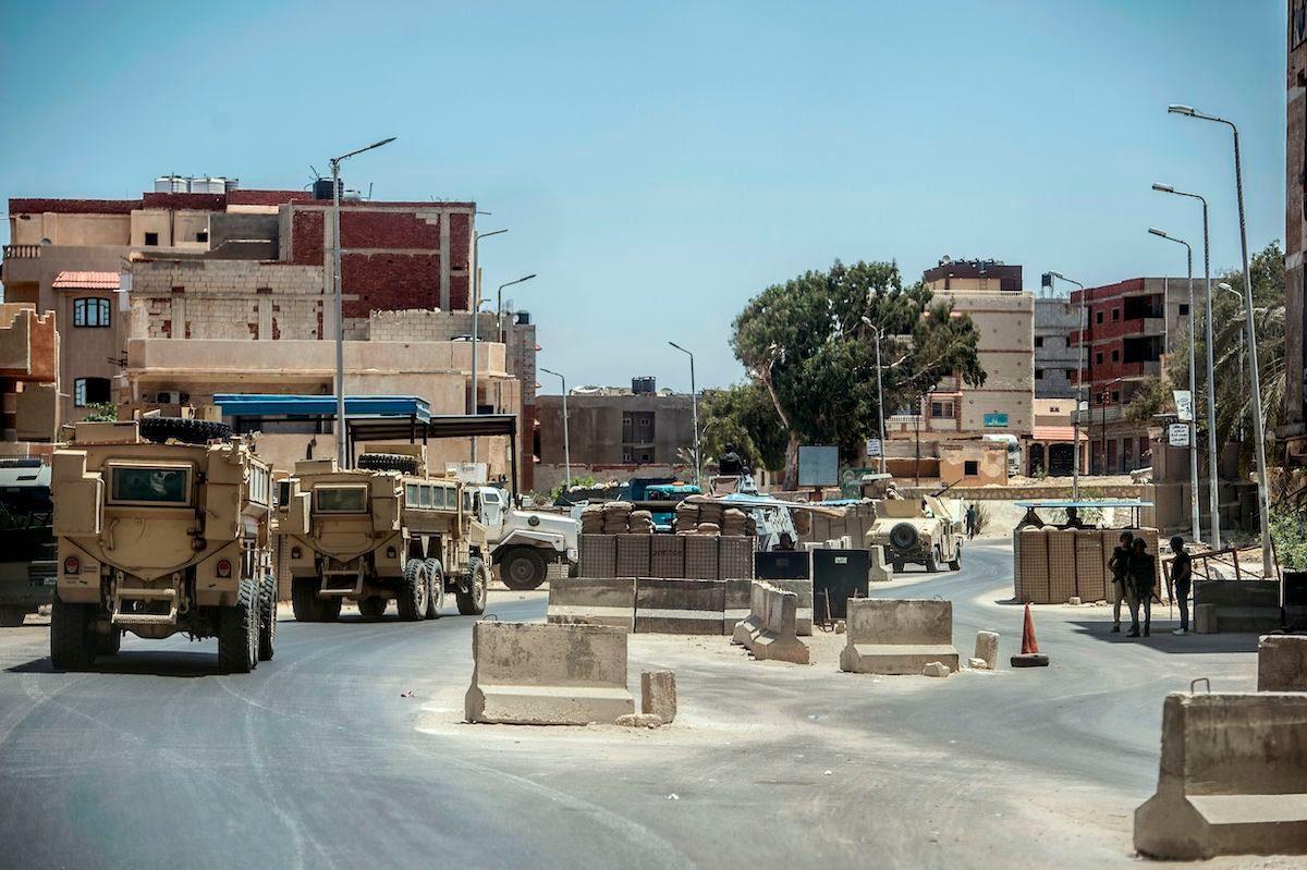 La ayuda militar de EE.UU. por valor de 1.300 millones de dólares llega en el momento oportuno para los ataques aéreos de Egipto en el Sinaí