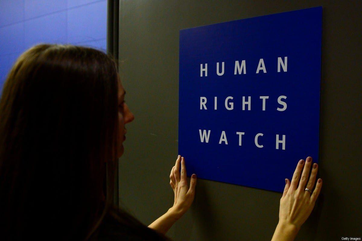HRW favorece indirectamente la narrativa colonial y la agresión de Israel