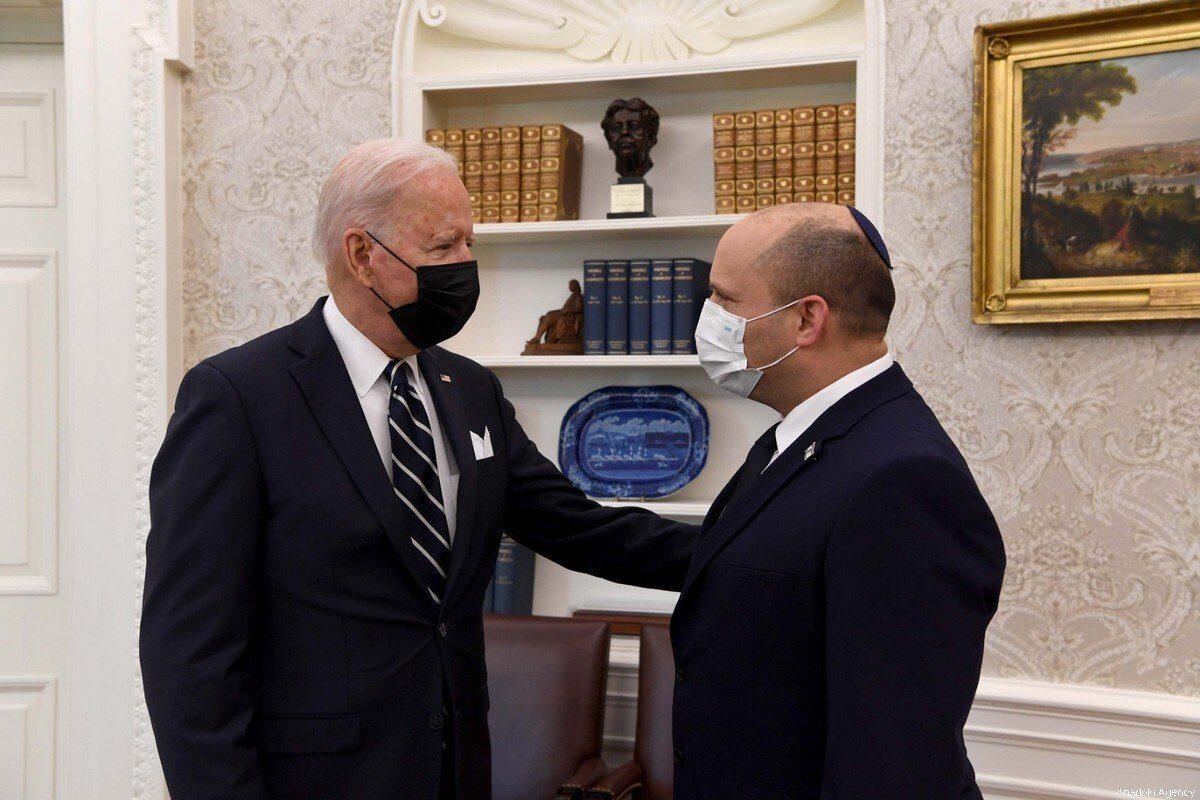 Las dudas de Israel sobre la reunión entre Bennett y Biden