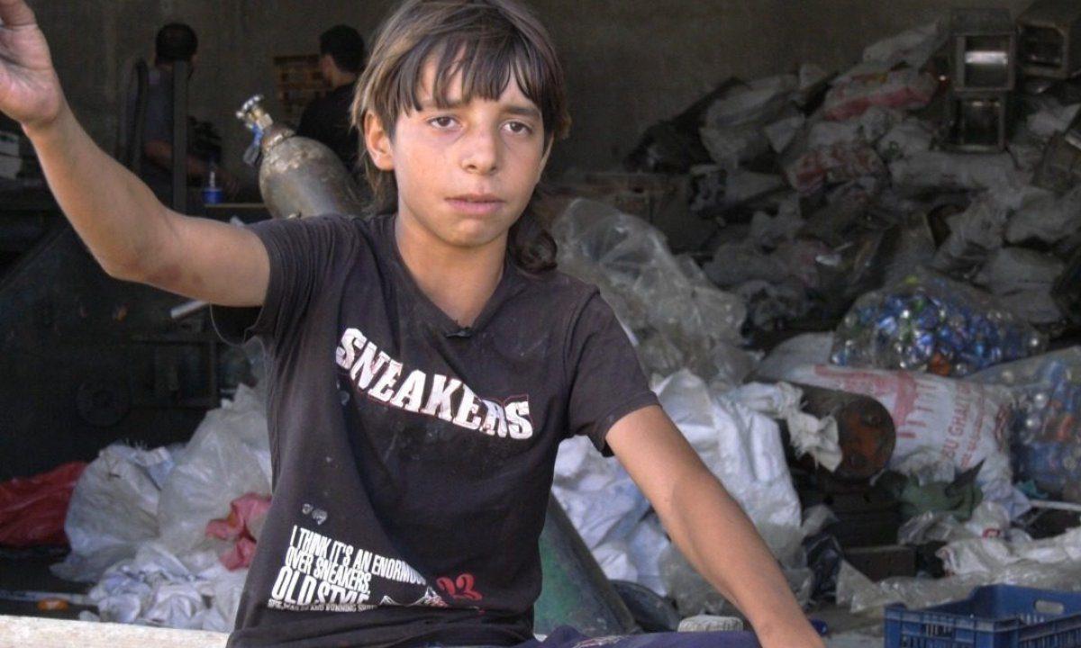 La lucha por ganarse la vida en Gaza comienza en la edad escolar gracias al cruel asedio de Israel